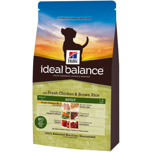 Hills Ideal Balance Canine Adult Chicken & Brown Rice 12kg