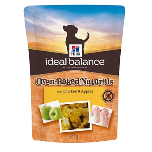 Hills Ideal Balance Canine Oven Baked Treats Chicken & Apple - 227g