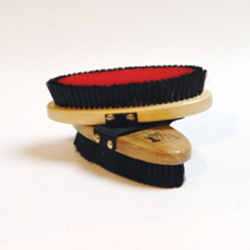 Stablemates Body Brush Red/Black
