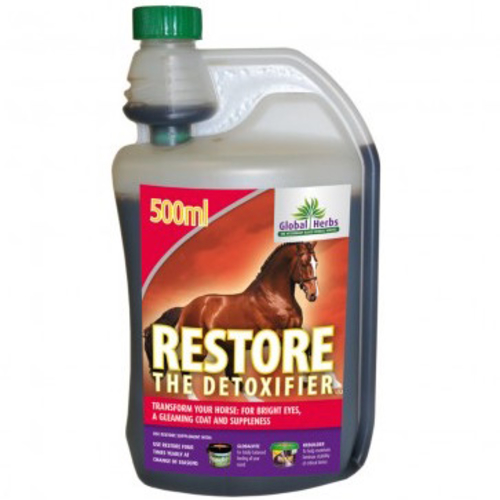 Global Herbs Restore Supplement for Horses 500 ml