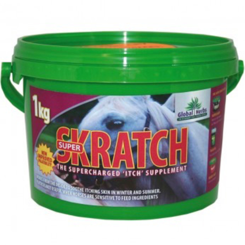 Global Herbs SuperSkratch for Horses 1kg