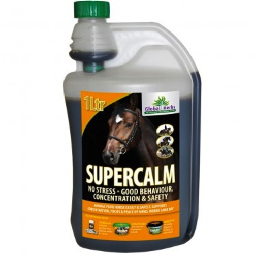 Global Herbs Supercalm for Horses 1L