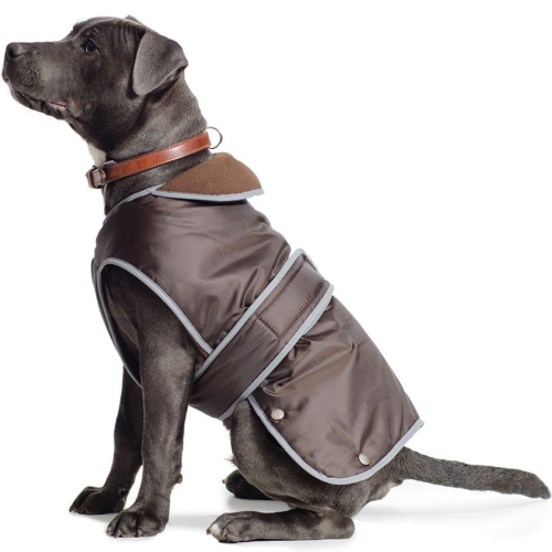 Ancol Muddy Paws Stormguard Chocolate Dog Coat Medium