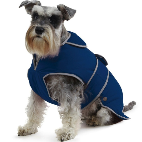 Ancol Muddy Paws Stormguard Navy Dog Coat Small