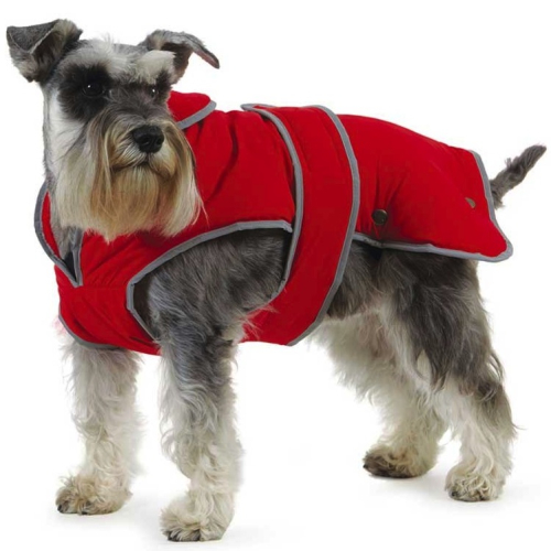 Ancol Muddy Paws Stormguard Red Dog Coat Medium