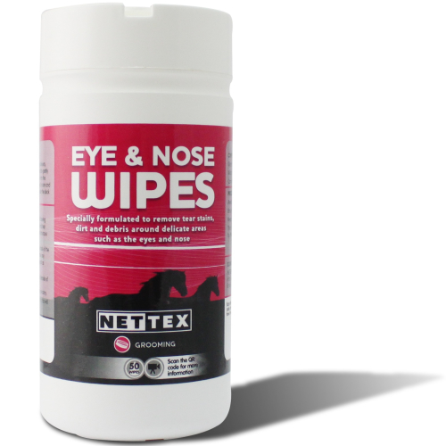 Net-Tex Eye & Nose Wipes for Horses 50 wipes