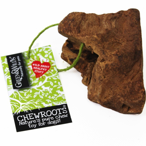 Green & Wilds Chew Roots Dog Chew Toy Small