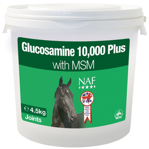 NAF Glucosamine 10,000 Plus with MSM for Horses 4.5kg