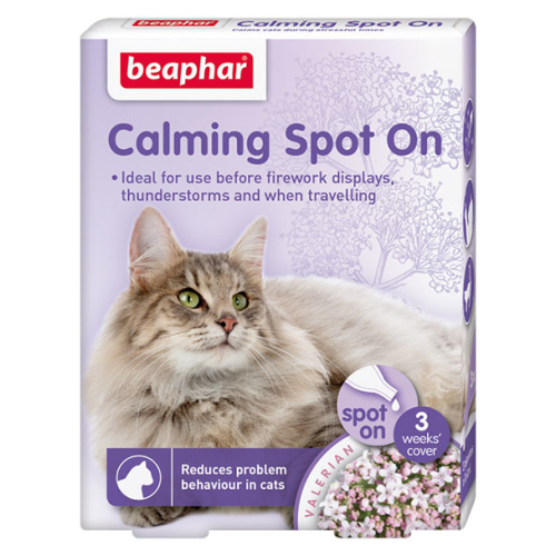 Beaphar Calming Spot On for Cats 3 Pipettes