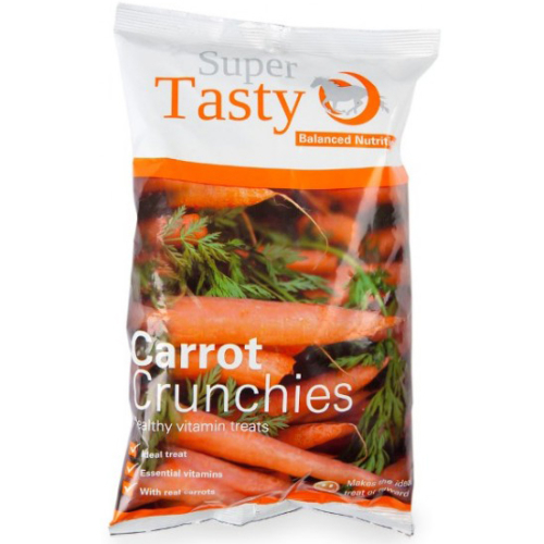 Super Codlivine Crunchies Horse Treats Carrot