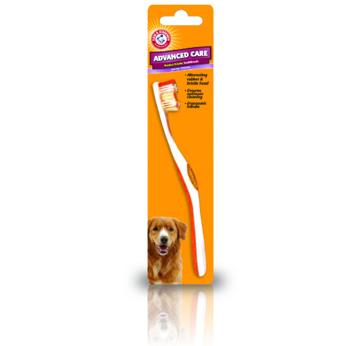 Arm & Hammer Rubber Bristle Dog Toothbrush
