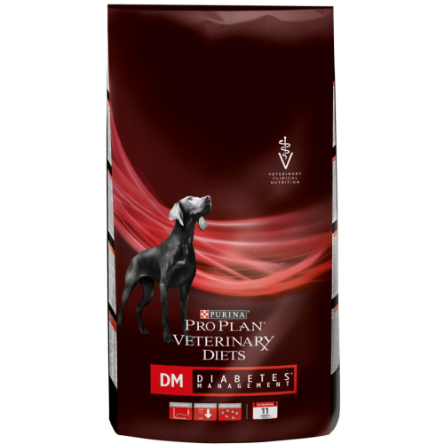 PURINA VETERINARY DIETS Canine DM Diabetes Management Dog Food 3kg
