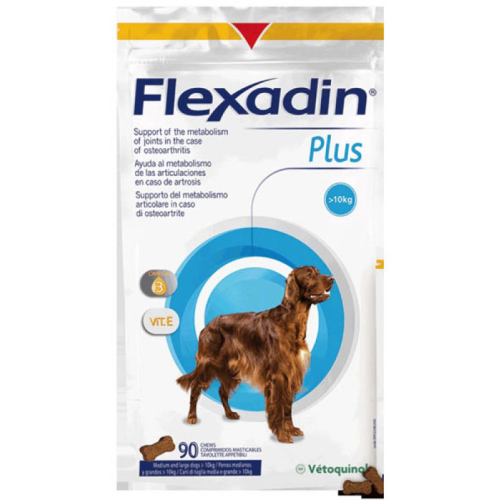 Flexadin Plus Chewable Tablets for Dogs & Cats Medium/Large Dog - 90 Tabs