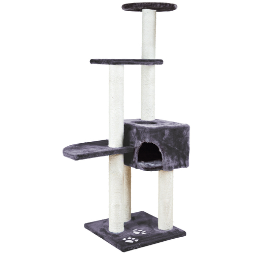 Trixie Alicante Scratching Post Grey 45cm x 45cm x 142cm