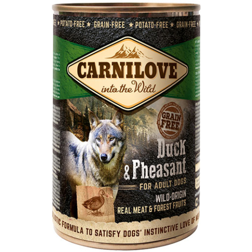 Carnilove Duck & Pheasant Adult Dog Food 400g x 18