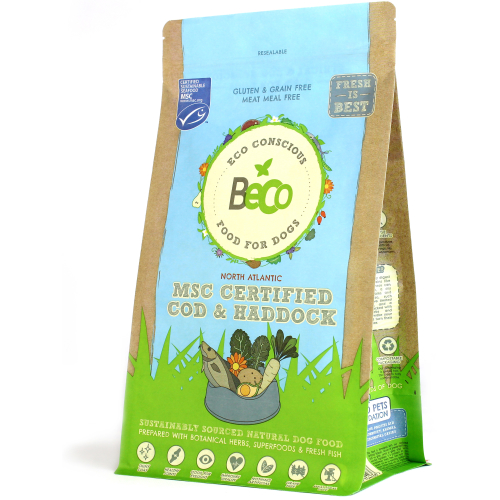 Beco Cod & Haddock Dry Complete Dog Food 12kg