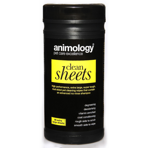 Animology Clean Sheet 80 Pack