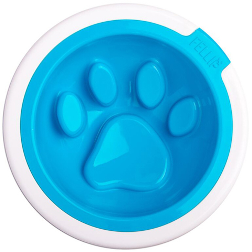 Fellipet Kaleido Manners Dog Bowl Aqua
