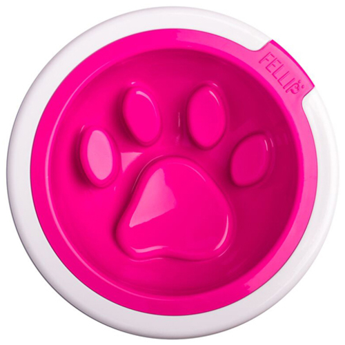 Fellipet Kaleido Manners Dog Bowl Fuschia