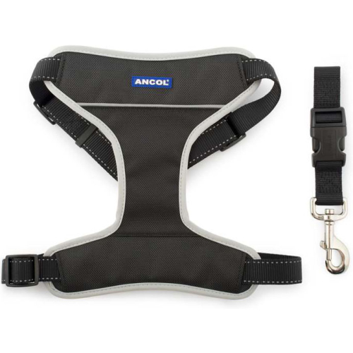 Ancol Nylon Car & Exercise Dog Harness Large
