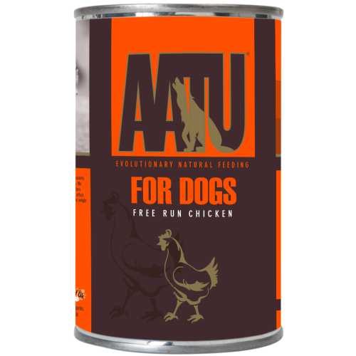 AATU Chicken Wet Dog Food 400g x 18