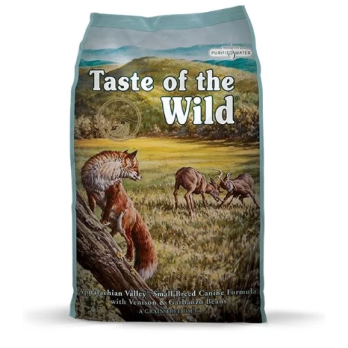 Taste Of The Wild Appalchian Valley Small Breed Venison & Beans Dog Food 13kg