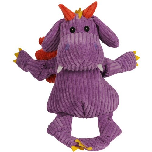 Hugglehounds Knottie Puff The Dragon Dog Toy Large
