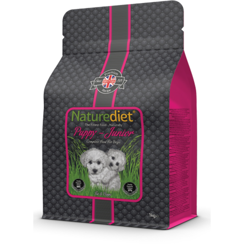 Naturediet Chicken & Turkey Puppy & Junior Dog Food 12kg