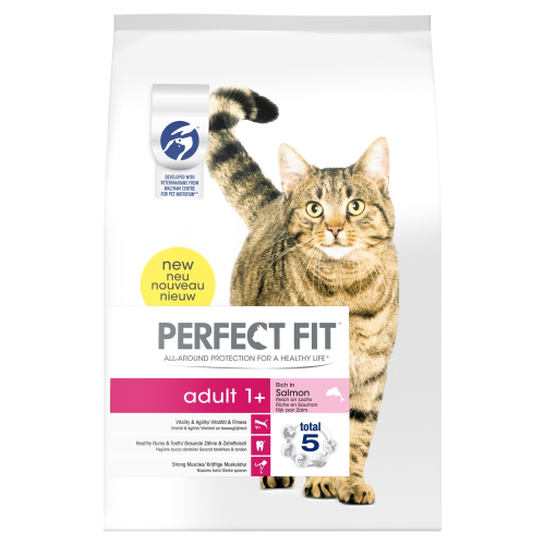 Perfect Fit Salmon Adult Cat Food 2.8kg
