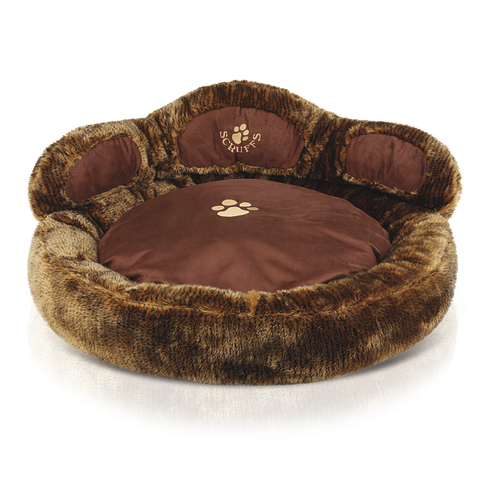 Scruffs Cub Bear Dog Bed 85 x 85 x 36cm