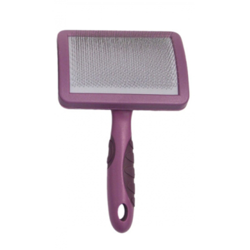 Rosewood Soft Protection Grooming Slicker Brush Large