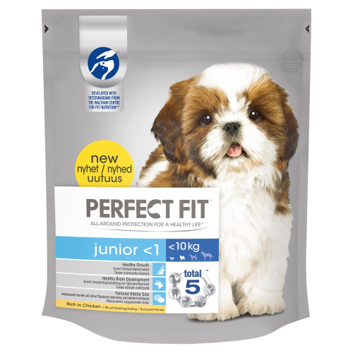 Perfect Fit Chicken Dry Junior Dog Food 825g