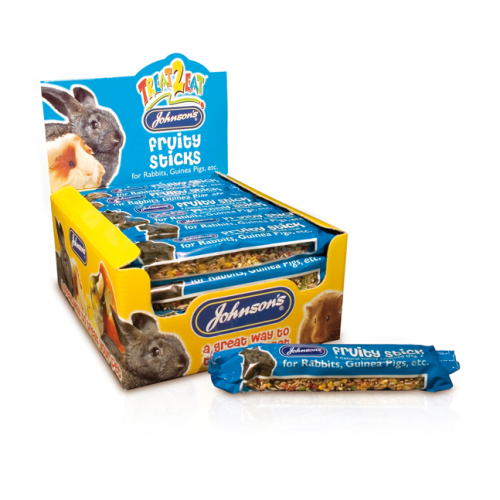 Johnsons Fruity Sticks For Rabbits And Guinea Pig