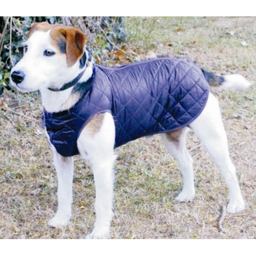 Cosipet Step In Suit Quilted Dog Rain Coat Blue 35cm / 14""