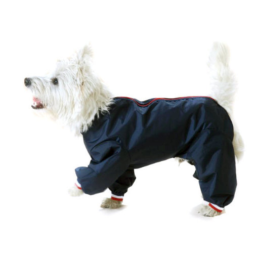 Cosipet Trouser Suit Dog Coat Navy 51cm / 20""