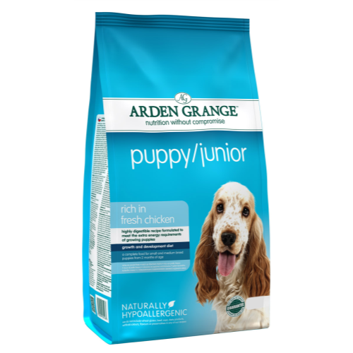 Arden Grange Chicken & Rice Puppy & Junior Dog Food 12kg