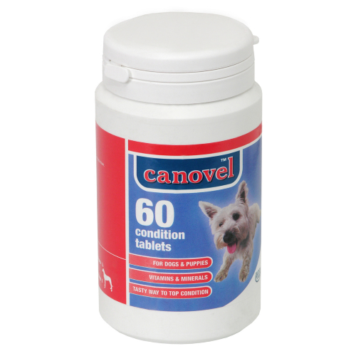 Hatchwells Condition Vitamin Mineral Tabs For Puppies & Dogs 60