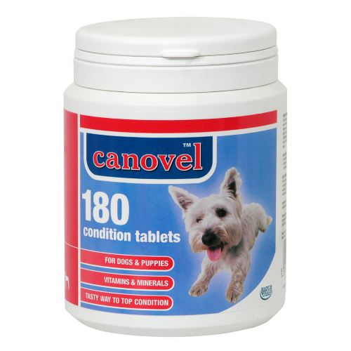 Hatchwells Condition Vitamin Mineral Tabs For Puppies & Dogs 180