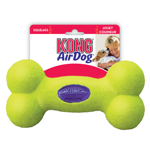 KONG Air Squeaker Bone Dog Toy Medium