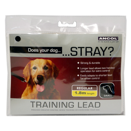 Ancol Nylon Training Lead 15mm X180cm