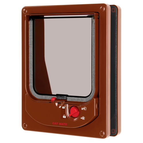 Cat Mate Electromagnetic Flap Brown