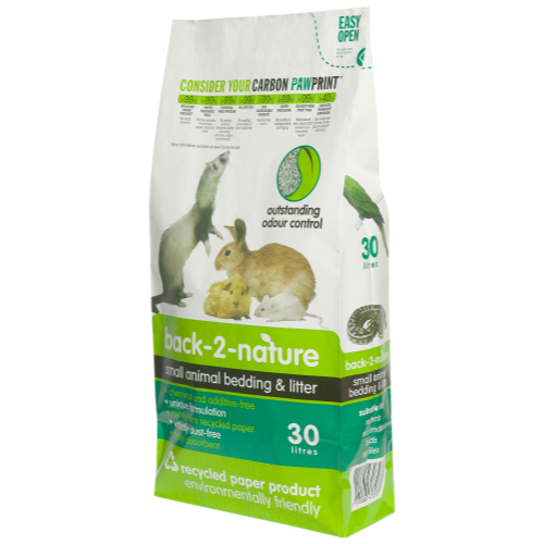 Fibrecycle Back 2 Nature Small Animal Bedding 30 Litre