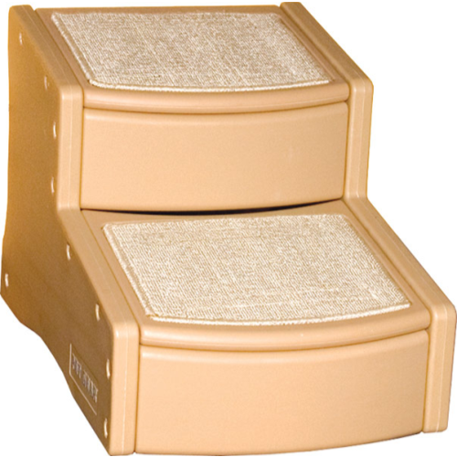 Pet Gear Easy Step Stairs Tan Medium (2 Steps)