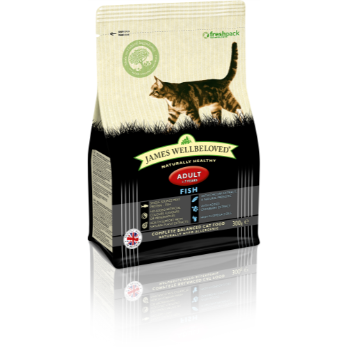 James Wellbeloved Adult Fish Cat Food 300g