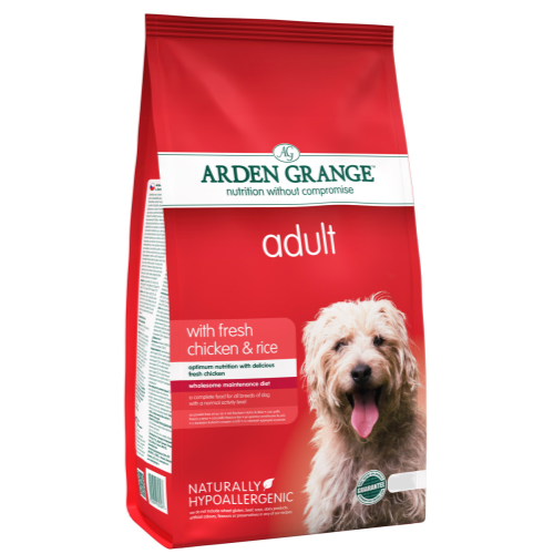 Arden Grange Chicken & Rice Adult Dog Food 6kg