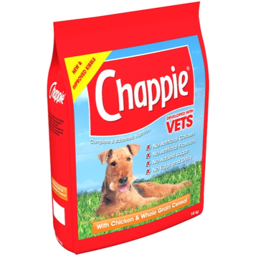 Chappie Dry Chicken & Wholegrain Cereal Adult Dog Food 15kg