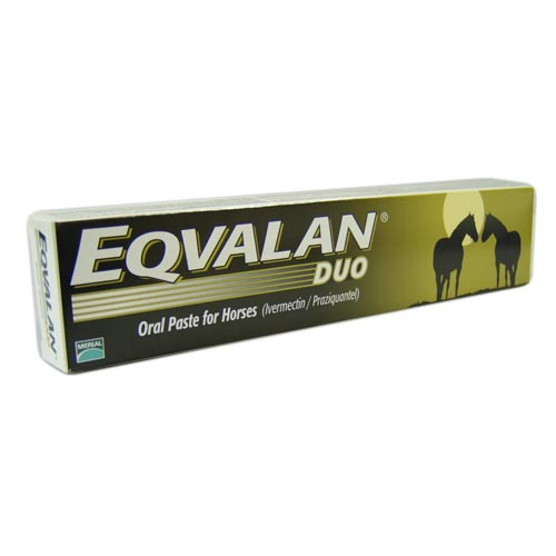 Eqvalan Paste Syringe Horse Wormer Duo Paste Syringe 7.74g