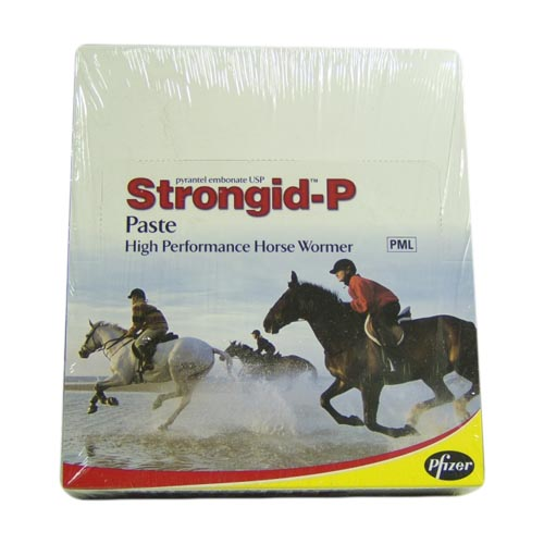 Strongid P Horse Worming Paste 1 Syringe