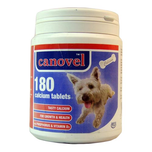 Canovel Calcium Tablets x180