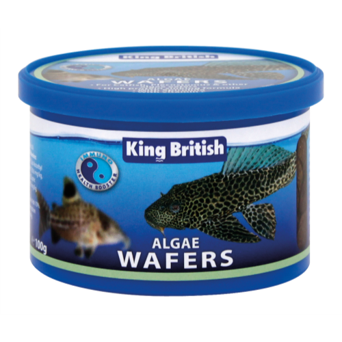 King British Algae Wafers Fish Food 100g
